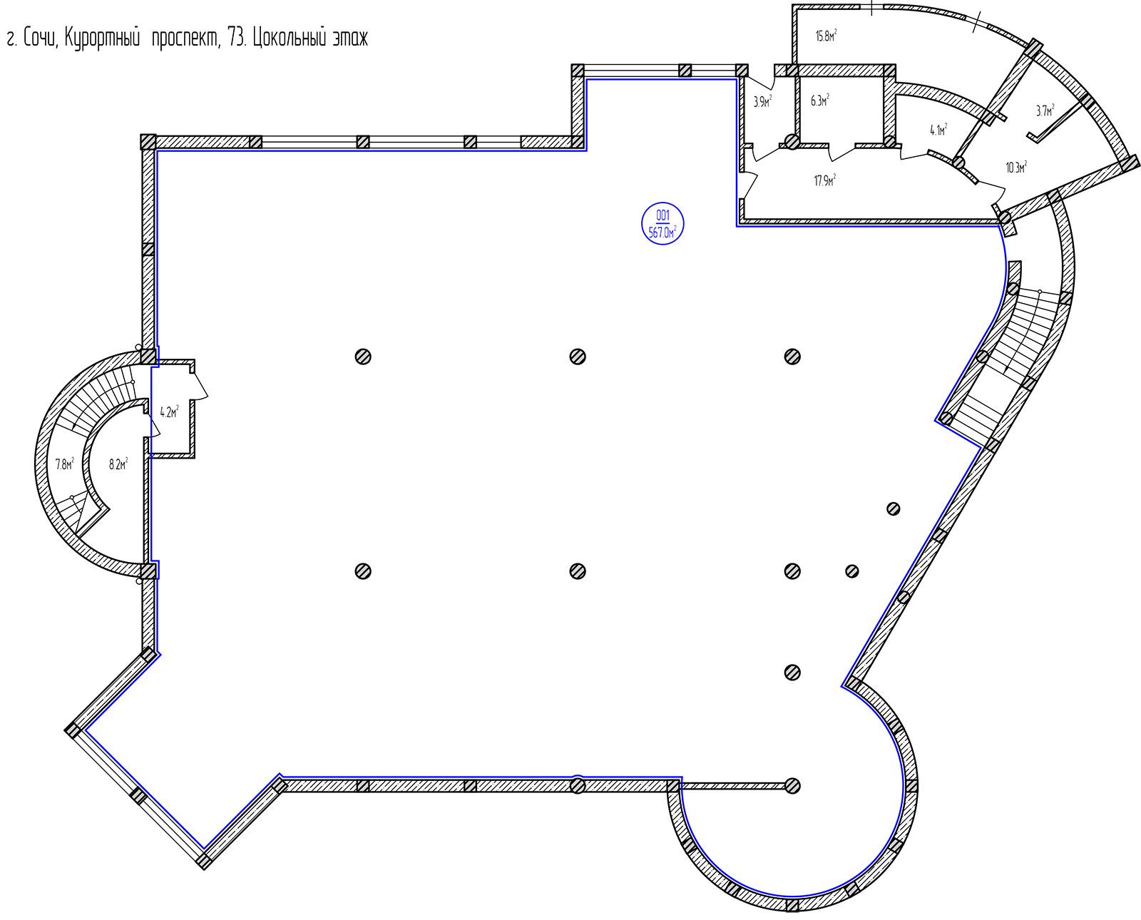 Планировка: этаж 0