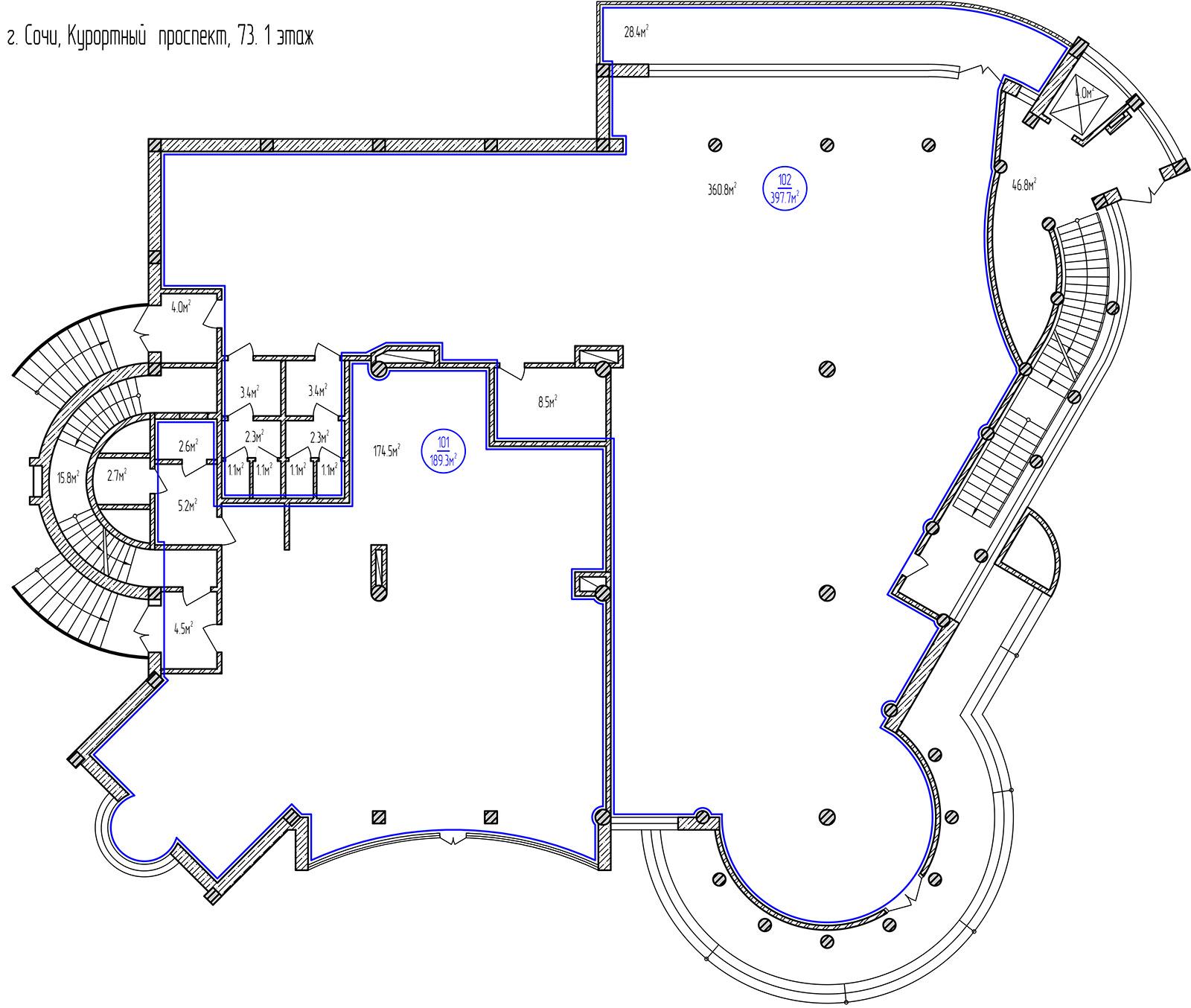 Планировка: этаж 1