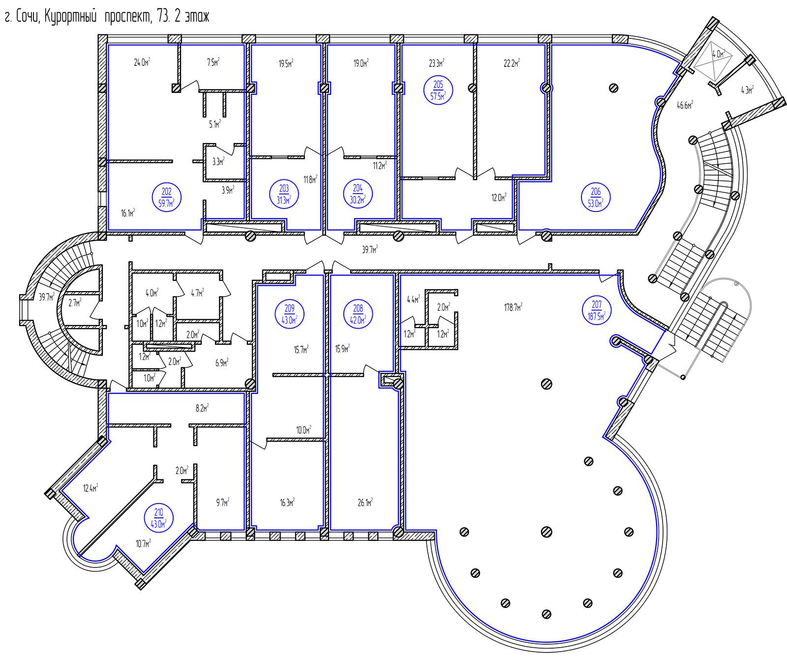 Планировка: этаж 2